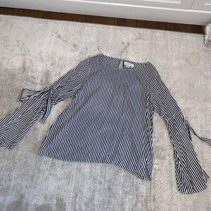 """""""VELVET"""" stripe blouse"""